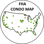 map of FHA condominiums check FHA status