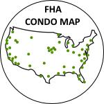 map of FHA condominiums check FHA status