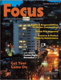 "CAI's In Focus Magazine Article – ""About FHA Approval"" by FHA Review's Natalie Stewart"