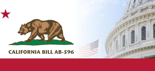 AB 596 CA Bill